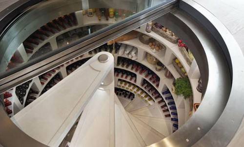 床下ワインセラー