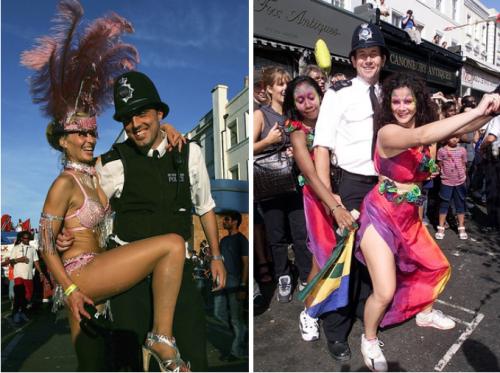 アメリカの警察とイギリスの警察の比較