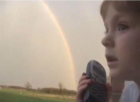 面白動画|虹の終わり