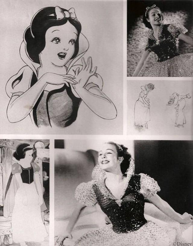 ディズニープリンセス 白雪姫のモデル