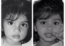 親子というより双子!親の子どもの頃とそっくりな子ども達。