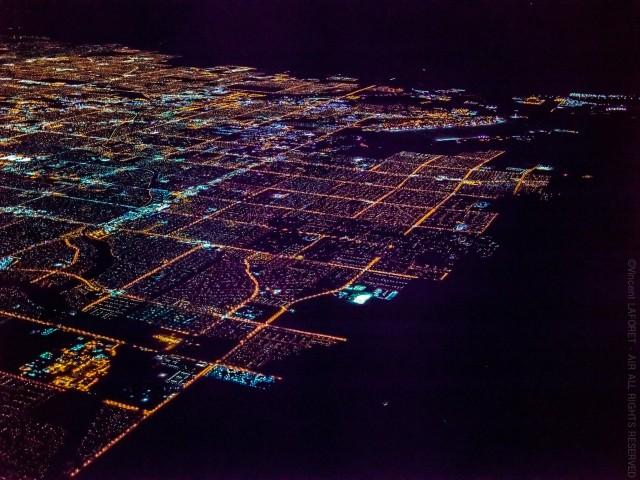 高度10,800フィートから撮影したラスベガスの写真が素晴らし過ぎる