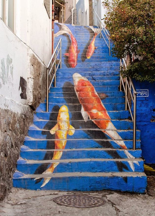 昇ったら何かいい事ありそうな気がする世界の美しい階段