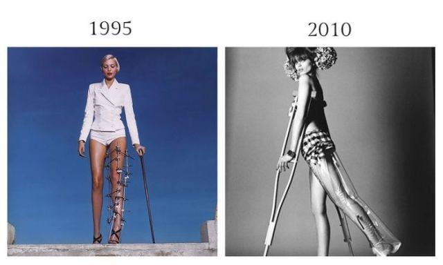 【画像】パクリ?偶然?オマージュ?ファッションフォト過去と現在