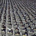 【面白画像】中国は大人数の対処の仕方を良く心得ているようだ。