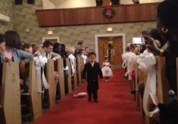 【面白動画】ハプニング特集!結婚式はもうコリゴリな子ども達