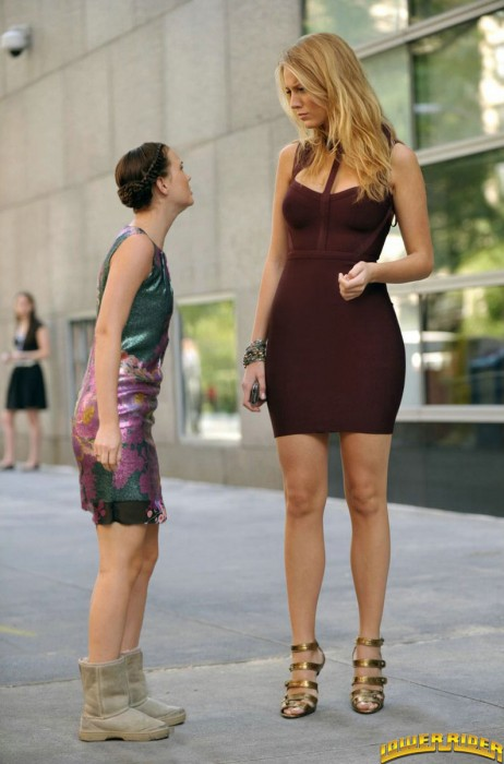 【画像】日本人とはレベルが違う!世界の超長身な美女達